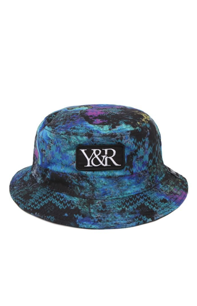 Young & Reckless comes with a creative men's bucket hat found at PacSun. TheOil Spill Bucket Hat for men has a multi color print, comfortable fit, and Young & Reckless patch sewn on the front.Allover multi color print bucket hatYoung & Reckless patch sewn on frontOne size fits mostDry clean only100% polyesterImported