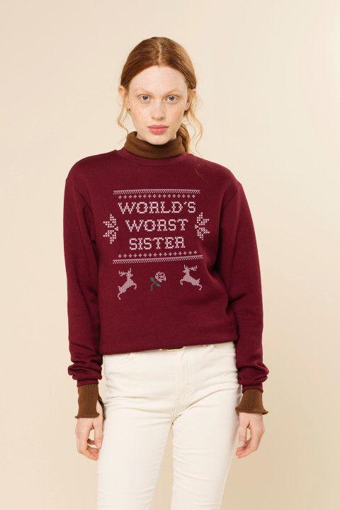 Rad | World's Worst Sister Sweater - CHRISTMAS | Comfy ...