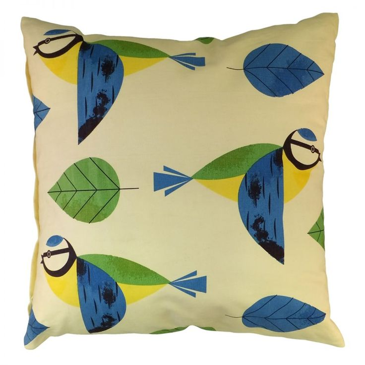 Cubic: BIRDY - CUSHION BLUE TIT