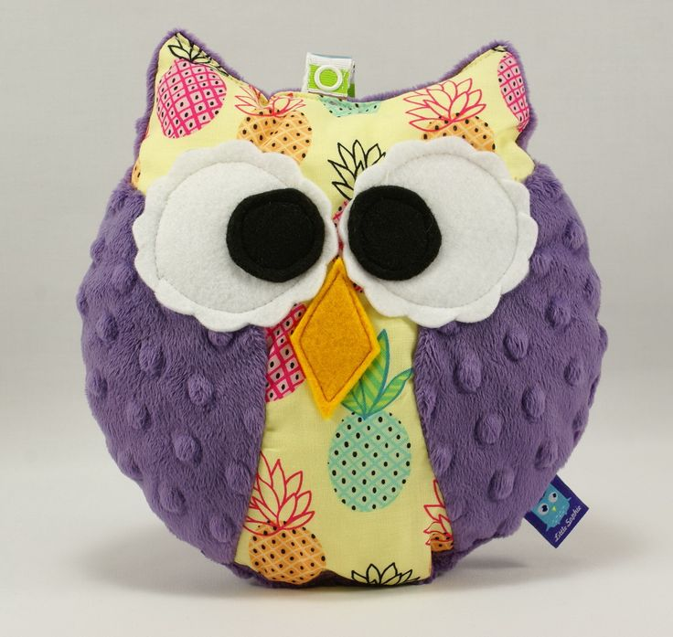 Little Sophie plush mini owl #coco #pineapple #ananasy #violet #sowa #owls