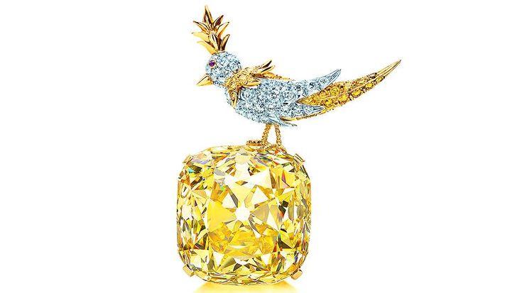 Желтые бриллианты Tiffany & Co.