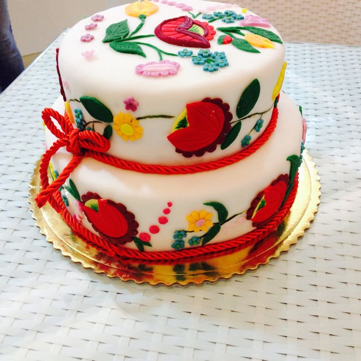 Tort z motywem góralskim