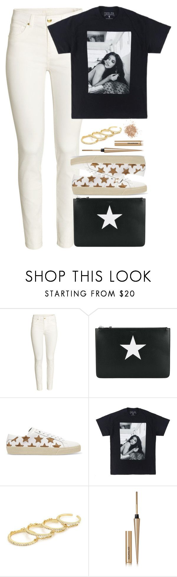 """""""Stylish Stars"""" by kydajenner on Polyvore featuring mode, H&M, Givenchy, Yves Saint Laurent, Kendall + Kylie, Fallon, Hourglass Cosmetics, Topshop en StreetStyle"""