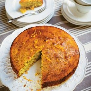 Tana Ramsay's Orange and Lemon Drizzle Cake with Poppy Seeds