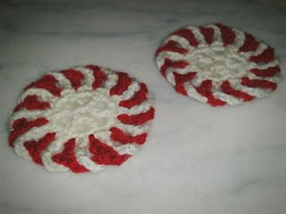 "Suporturi pahare ""Christmas Candy"" | TEEA Spacegirl"