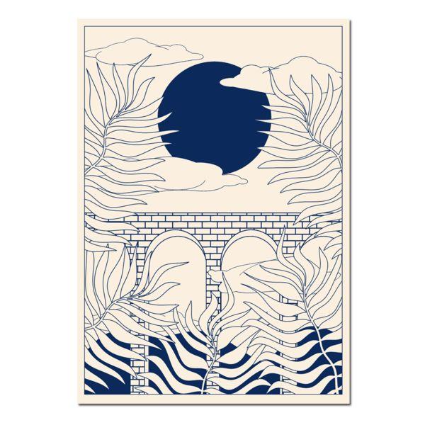 Printed Goods - Jungle Digital Print – Beach London #UKGiftGuide2017