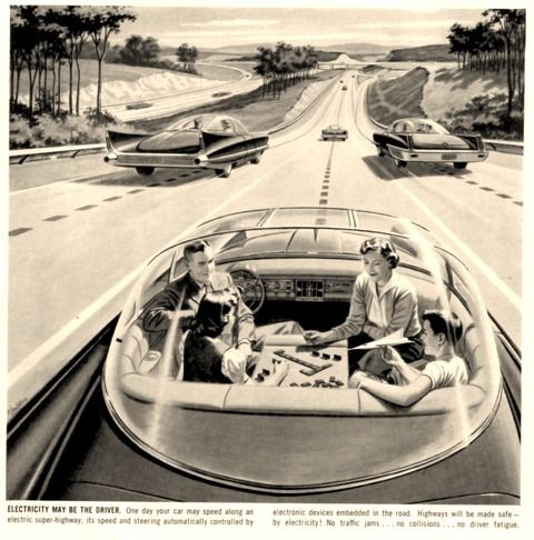 """1950s homes of the future now 