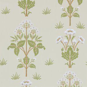 Meadow Sweet Behang Morris & Co. - ArchiveCollectie  Het Meadow Sweet behang Morris heeft een wonderlijk en betoverend geometrisch patroon van prachtige bloemen. Het ontwerp is van de hand van ...