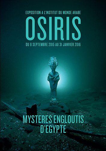 Expo : Osiris, mystères engloutis d'Égypte