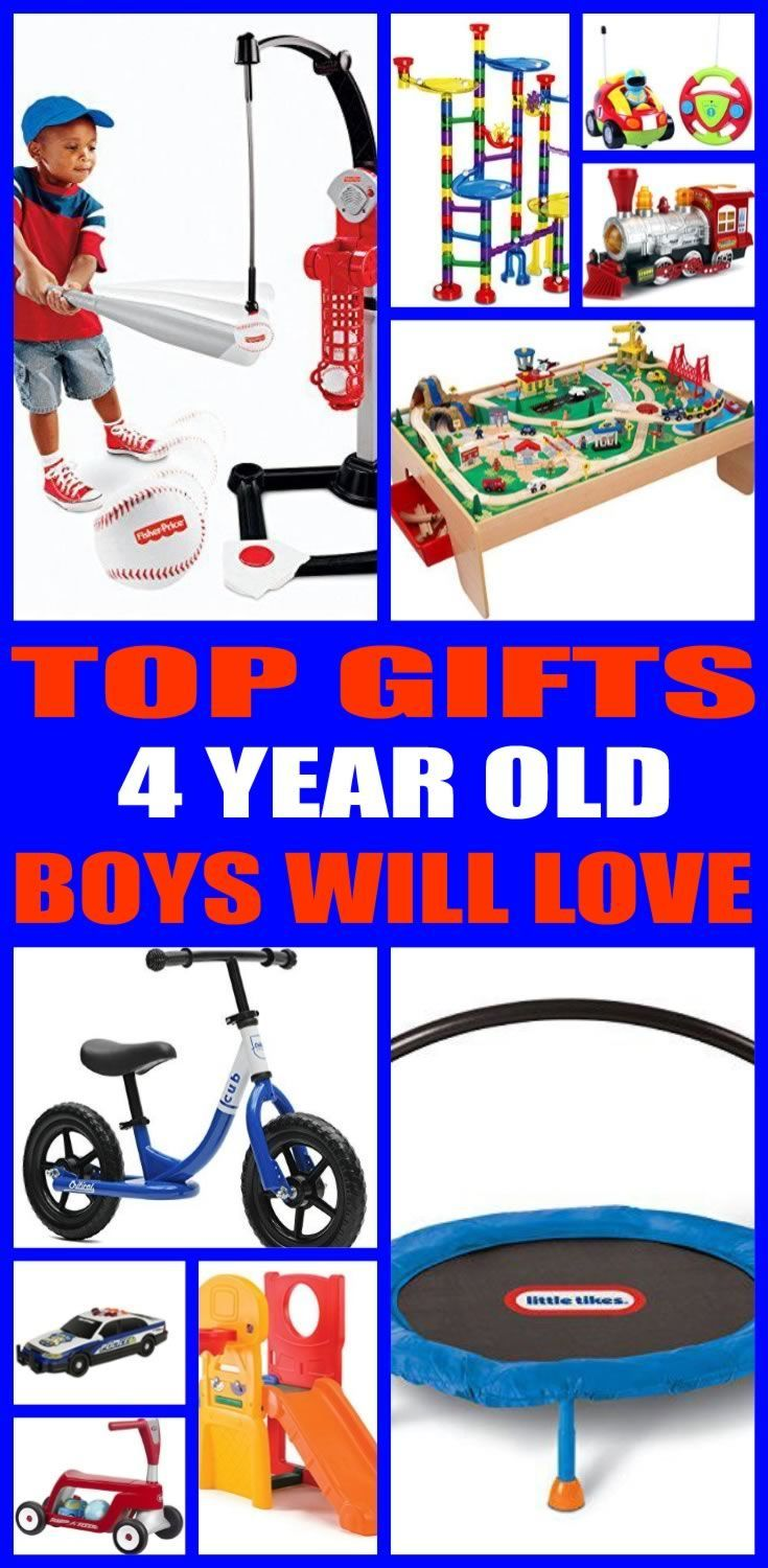 Find the best gifts for 4 year old boy! Kids would love a gift from ...