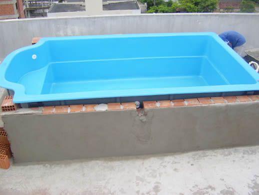 25 melhores ideias sobre piscina fibra no pinterest for Piscinas de fibra instaladas