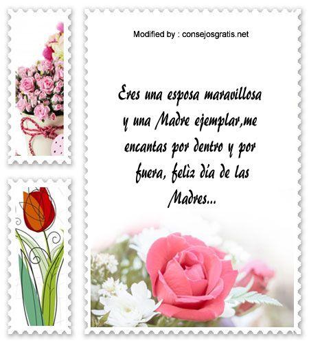 descargar mensajes bonitos para el dia de la Madre,mensajes de texto para el dia de la Madre: http://www.consejosgratis.net/mensajes-por-el-dia-de-la-madre-para-tu-esposa/