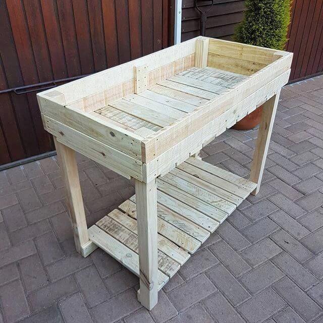 Easy To Build Pallet Containers Mit Bildern Aussenanlagen Diy Projekte Holz