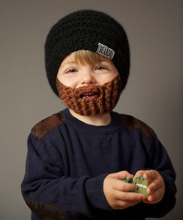 Black Hat & Brown Beard - Kids