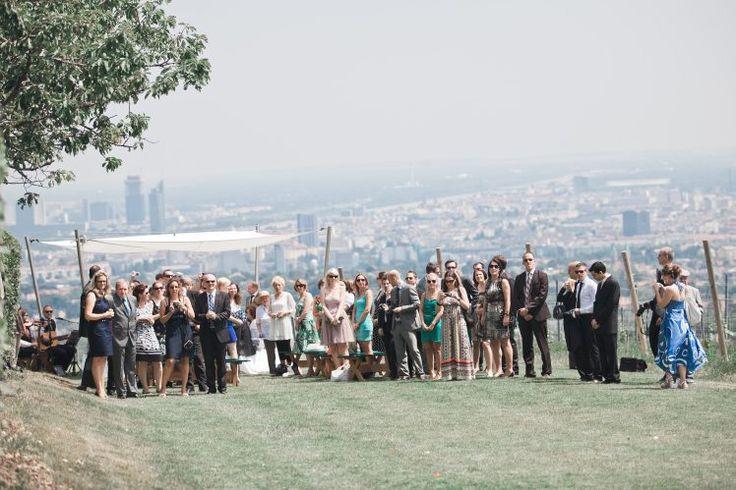 Hochzeit im Weinberg Wien Weingut Cobenzl