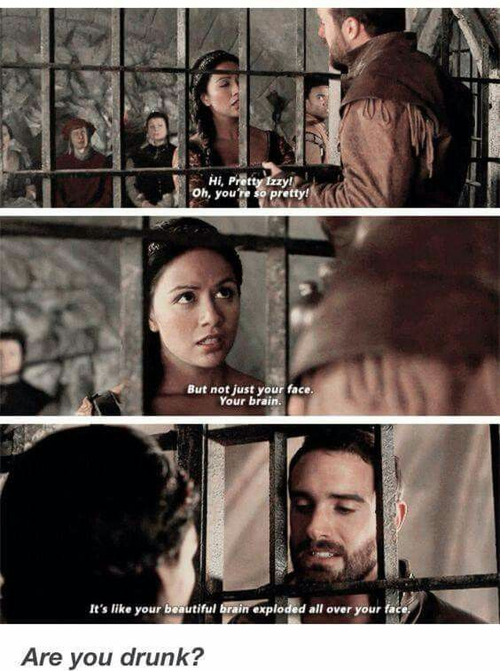 Galavant season1 - When Galavant tried to be Nice with Isabella and he didn't manage