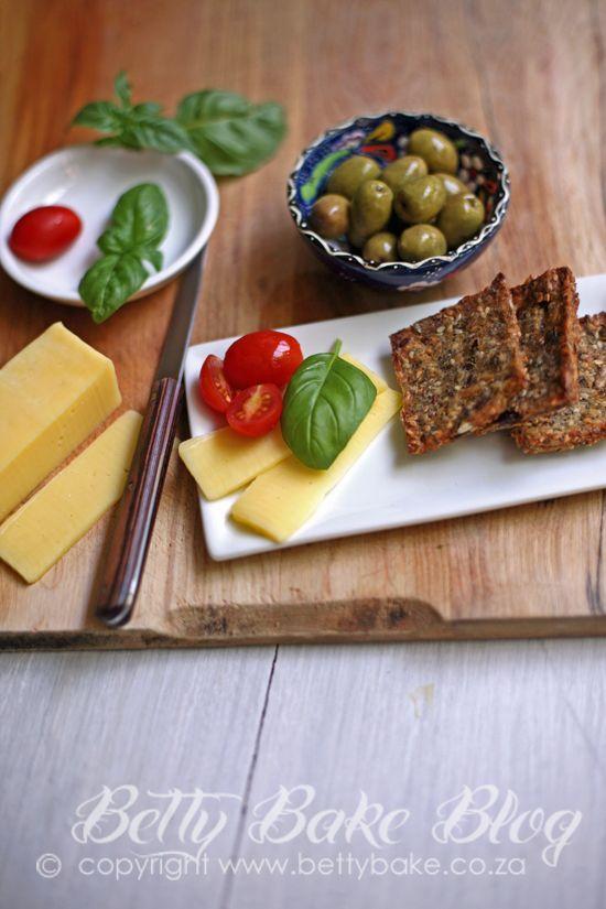 gluten free crackers made with #quinoa #sunflowerseeds #sesameseeds