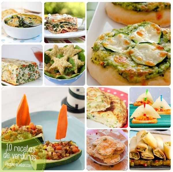 118 best images about recetas de verduras on pinterest for Cena de verduras