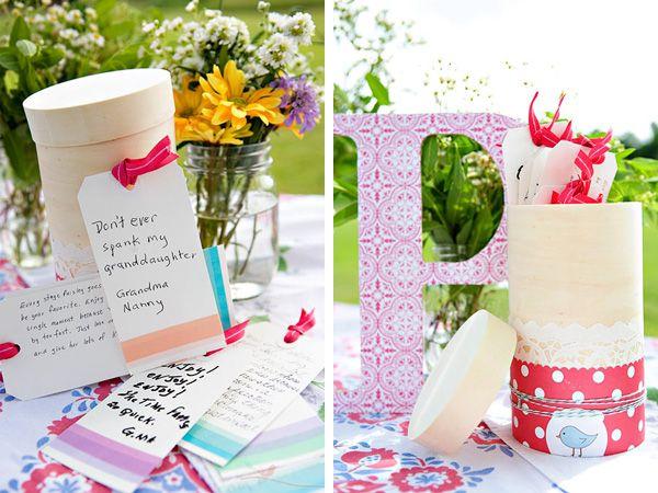 Advice Cards & Box - Baby  Shower