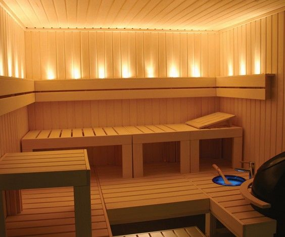 If anyone knows me, they know that I was born to live in warm weather.  I am cold-natured (what does that mean exactly).  I sleep in the fetal position, wear layers during the summer months, and sneak to adjust the thermostat when Ryan isn't looking.  I love warmth...so a picture of a sauna is appropriate for my wall!  Turn the heat up!