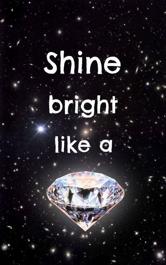 Shine bright like a Diamond by JamlecStudios on deviantART