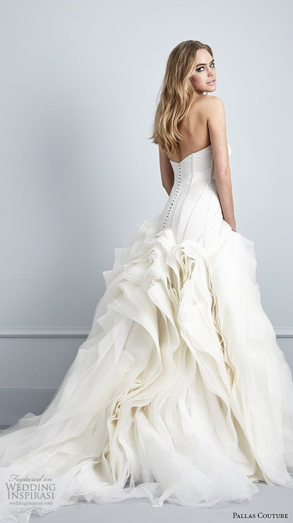 Couture Wedding Dresses Brigg : Wedding dresses dress strapless gowns