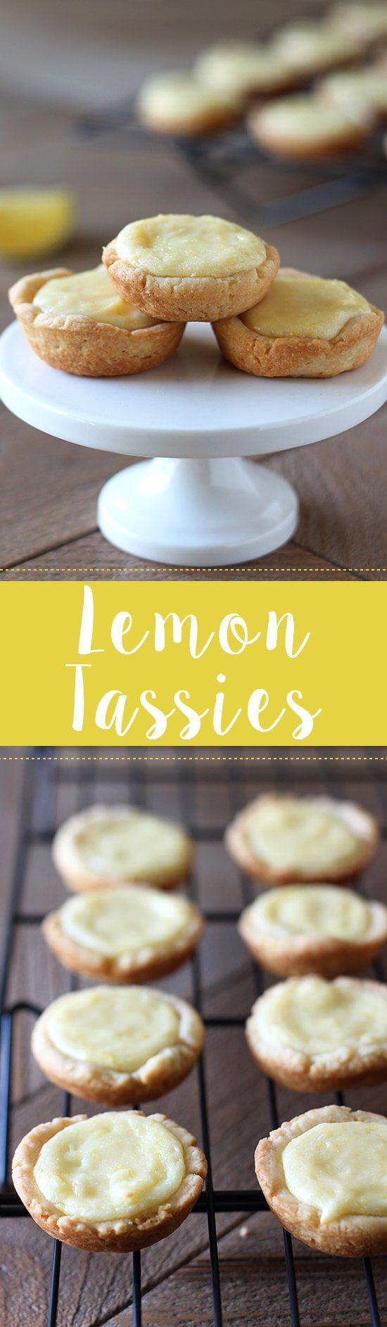SO GOOD. Adorably bite-sized Lemon Tassies are bursting with fresh and tangy citrus flavor and are simple and easy to make - perfect for entertaining!