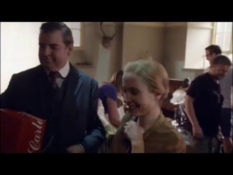 Downton Abbey ..Last Day on the Set.. video!...