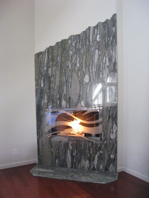 17 Best Images About Indoor Waterfall Fireplace On