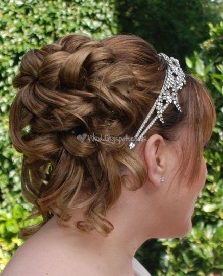 Grecian inspired wedding hair from Beautiful Hair   Photo 22