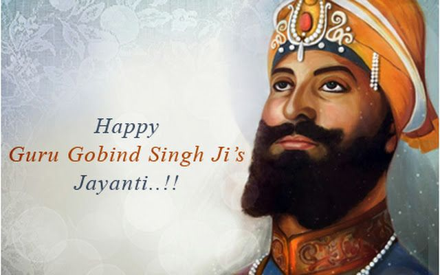 We wish u all #Happy #GuruGobindSingh Jayanti! May d holy teachings of #GuruGobindSingh ji bring peace,love & prosperity in everyone's lives