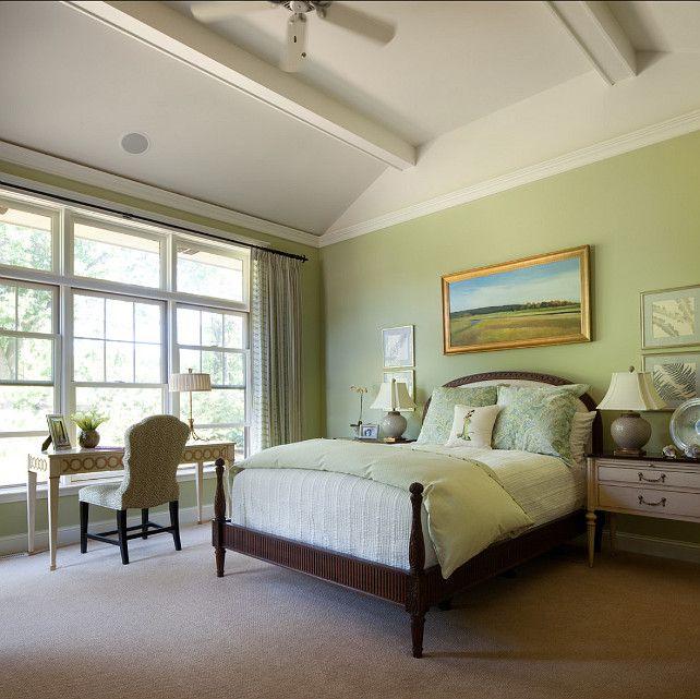 benjamin moore fernwood green 2145 40 interior design ideas paint color - Green Bedroom Design Ideas