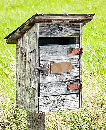 wooden letterbox plans - Google Search
