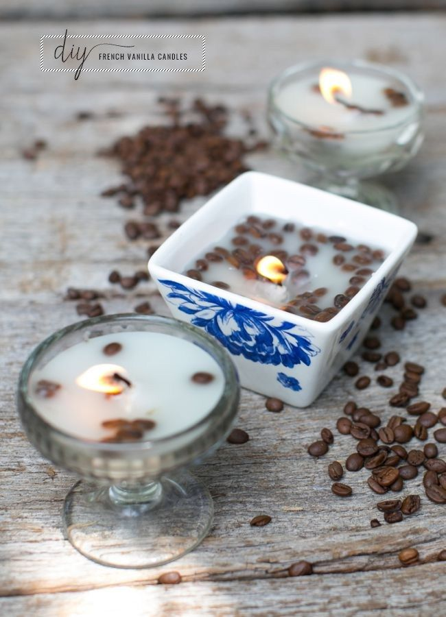 French Vanilla DIY Candles | HelloGlow.co