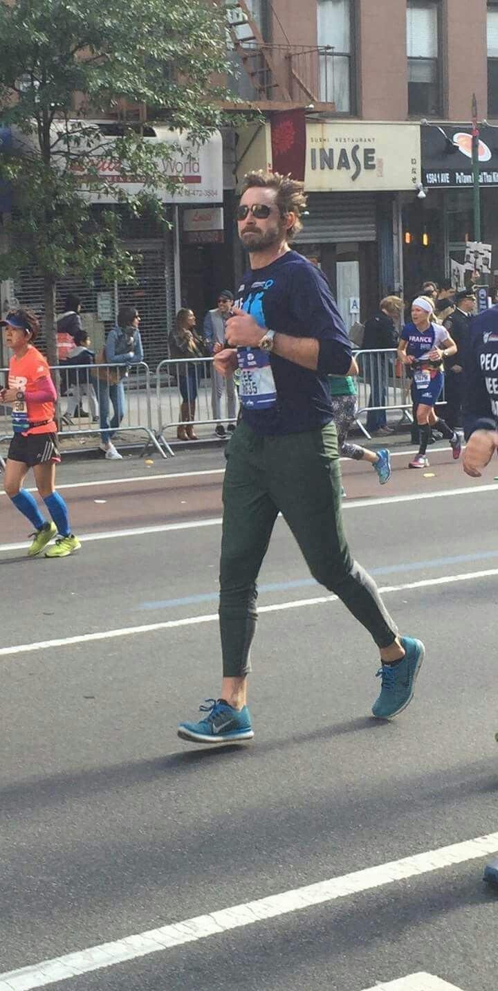 Lee at NYCmarathon 2016 - November, 6 2016