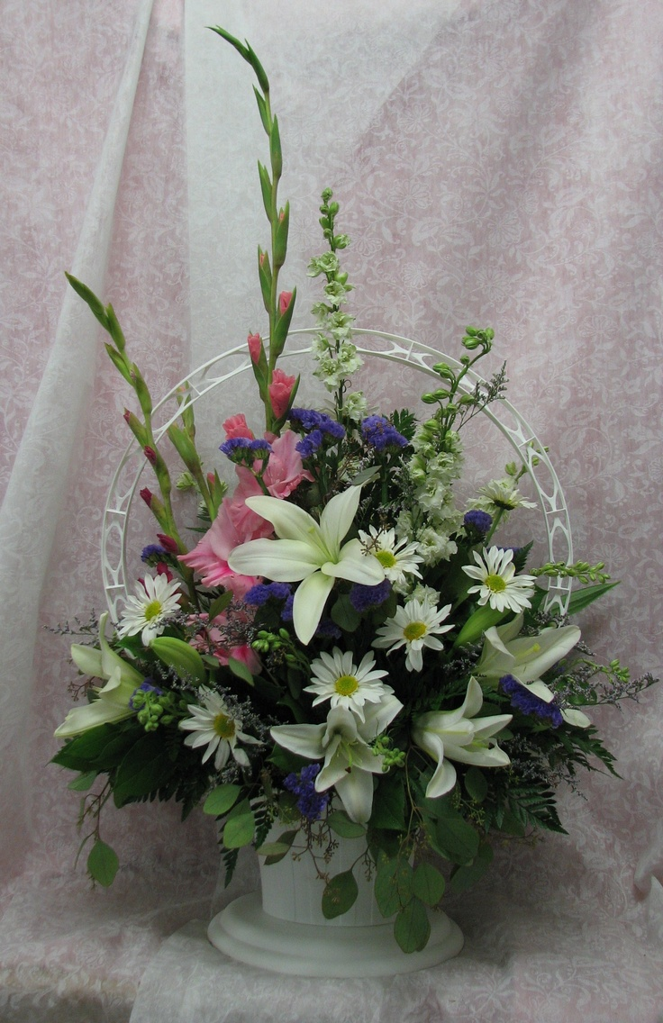 189 Best Floral Sympathy Images On Pinterest Flower Arrangement Funeral Flowers And Memorial