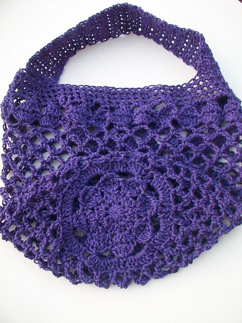 Ravelry: luvmygirlies' Mum Market Bag.  Crochet market bag.  Free pattern.