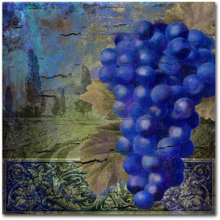 Trademark Fine Art Vino Blu One Canvas Art by Color Bakery, Assorted