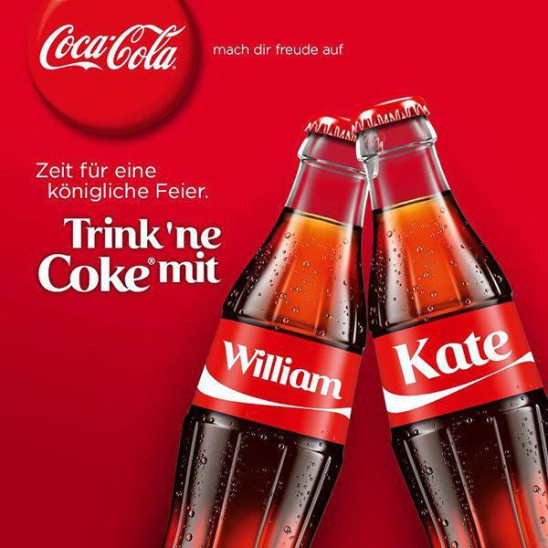 coca cola werbung | So wird der königliche Nachwuchs in der Werbewelt begrüßt ...