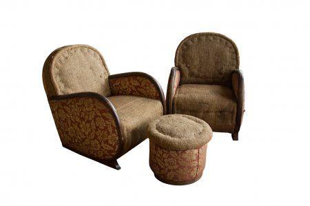 Pair Of Belgian Art Deco Chairs 10 Forward Pinterest