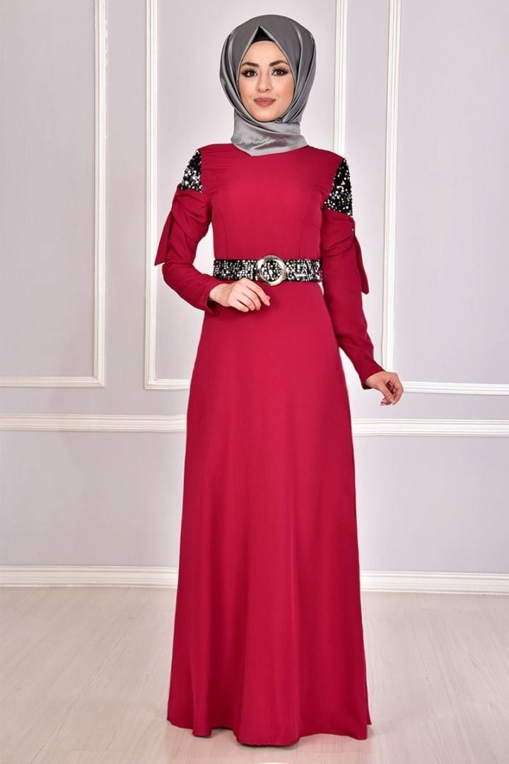 Modamerve Tesettur Elbise Modelleri 26 31 2019 Hijab Kleid Hijab Fashion Modamerve In 2020 Leopard Print Fashion Fashion Friday Spring Fashion Trends