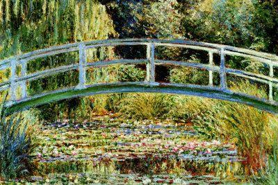 Le Pont Japonais a Giverny- Claude Monet