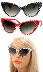 polka dot cat eye glasses $12.99