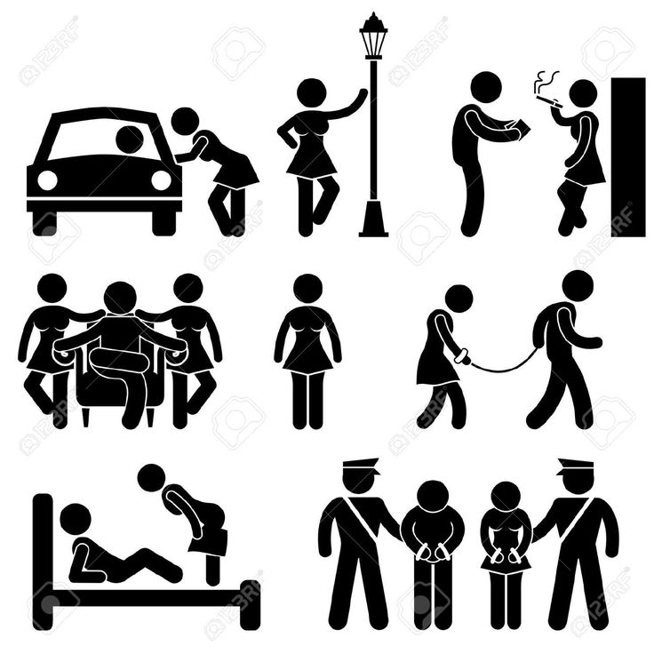 Prostitute Whore Hooker Pimp Stick Figure Pictogram Icon Royalty Free Cliparts, Vectors, And Stock Illustration. Pic 18809550.