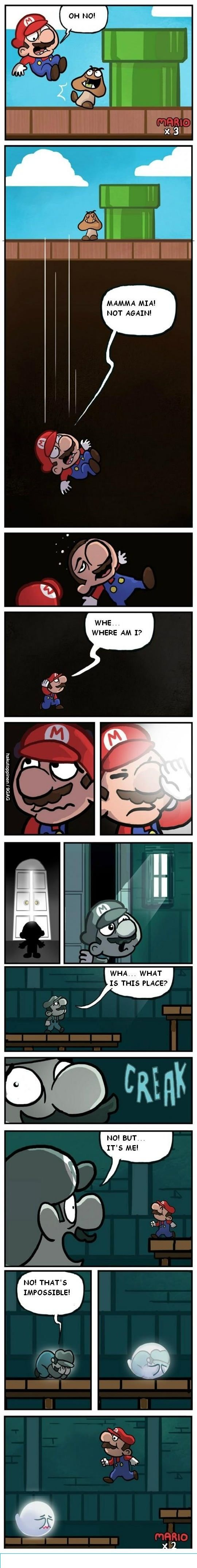 How Boos are made--That would be horrid if every time you ever died in the game you a boo was added. First time through, you'd never survive a boo level. ...Ever.