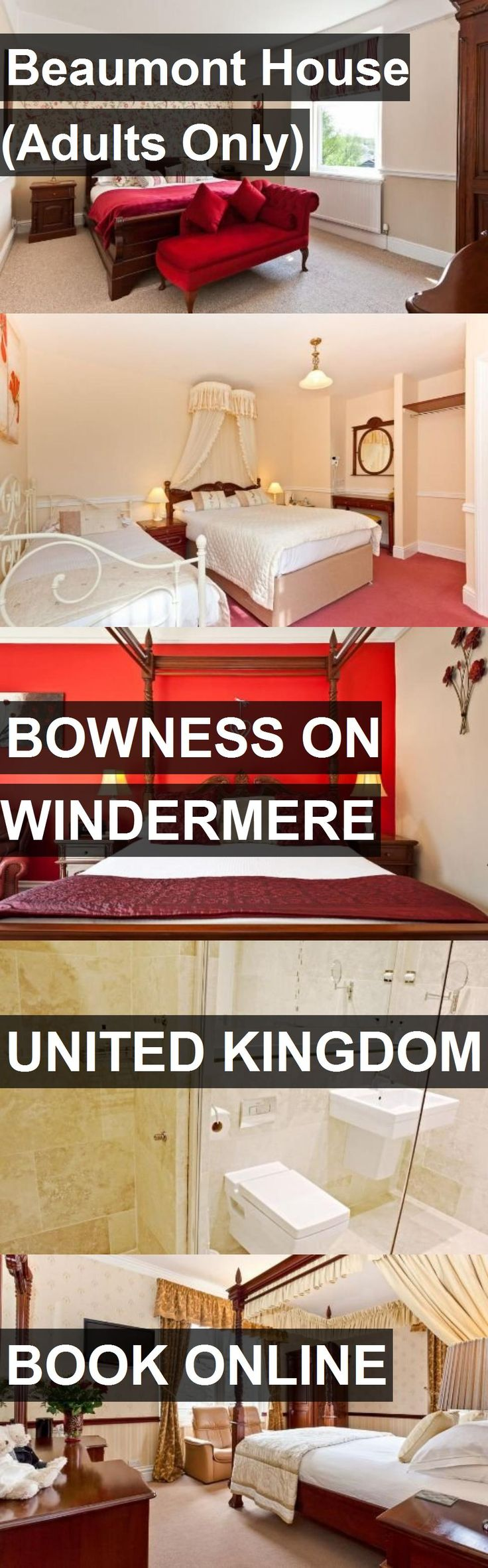 Hotel Beaumont House (Adults Only) in Bowness On Windermere, United Kingdom. For more information, photos, reviews and best prices please follow the link. #UnitedKingdom #BownessOnWindermere #travel #vacation #hotel