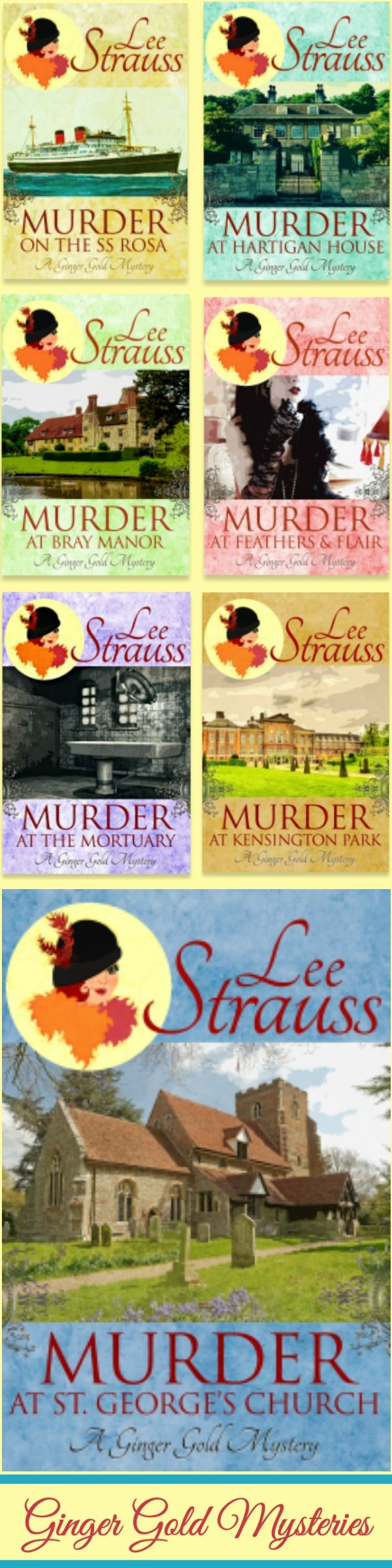 Move over Miss Fisher! Mystery & Intrigue in the 1920s.