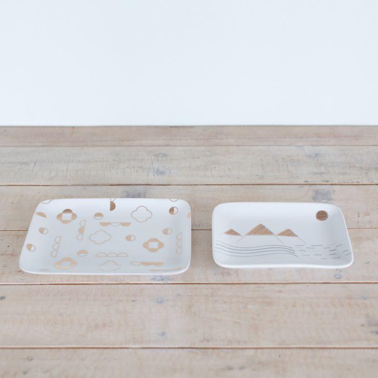 Alpine Tray Set from George +Co Certamics
