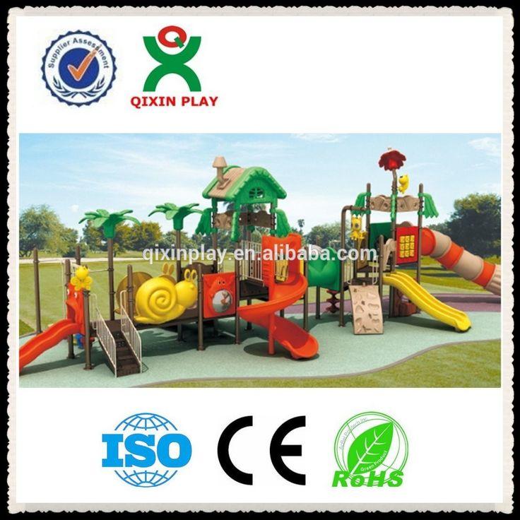 children playground flooring/plastic playground equipment south africa/children plastic playhouse and slide QX-B1503