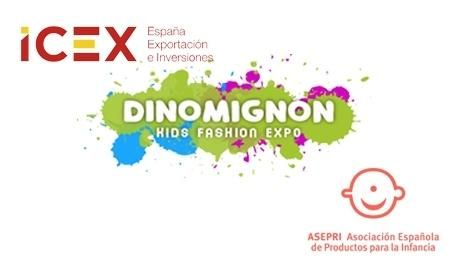 """We would like to express our appreciation to the Spanish governmental institution """"ICEX"""" and the Spanish association """"Asepri"""" for being part of Dino Mignon Kids Fashion Expo!"""